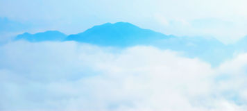 wolken overzees Royalty-vrije Stock Foto