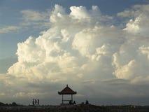 Wolken in Sanur Lizenzfreie Stockfotos