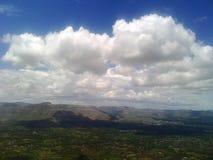 Wolken-Schatten Lizenzfreies Stockbild