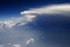 Wolken - sehen Sie von Flug 139 an Lizenzfreies Stockbild