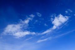 Wolken - sehen Sie von Flug 42 an Lizenzfreie Stockbilder