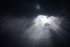 Wolken - sehen Sie von Flug 89 an Lizenzfreie Stockfotografie