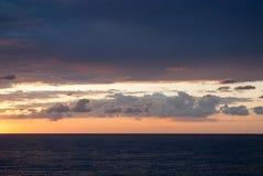 Wolken am Sonnenaufgang Lizenzfreies Stockfoto