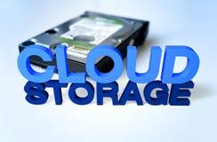 Wolken-Speicher Lizenzfreie Stockfotos
