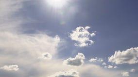 Wolken tijd-Tijdspanne stock videobeelden