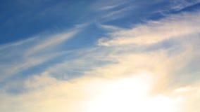 Wolken, Tijdtijdspanne stock footage