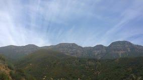 Wolken Topa Topa Stockfoto