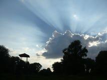 Wolken und Himmel Stockbild
