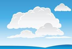 Wolken und Himmel Stockfoto
