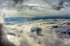 Wolken und Nebel Lizenzfreie Stockfotos