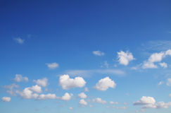Wolken und sky_1 Stockfoto