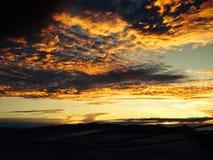 Wolken und Sonnenaufgang Lizenzfreie Stockbilder