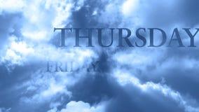 Wolken und Wörter 4 - SCHLEIFE stock abbildung