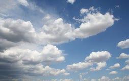Wolken vóór het onweer Royalty-vrije Stock Fotografie