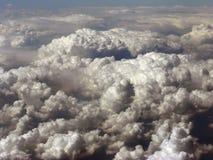 Wolken van de mening van het vogelsoog Stock Foto's