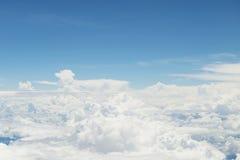 Wolken van hierboven Royalty-vrije Stock Fotografie