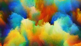 Wolken van Kleuren vector illustratie