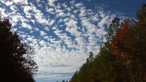 Wolken 6 van november Stock Afbeeldingen