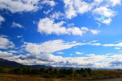 Wolken van Patagonië Stock Foto