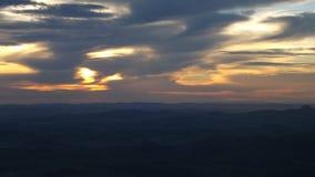 Wolken van Schemer royalty-vrije stock foto