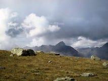 Wolken van Sils Maria Royalty-vrije Stock Foto's