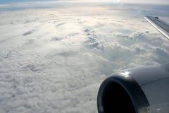 Wolken von oben Lizenzfreies Stockfoto