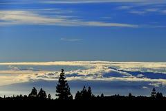 Wolken von oben Lizenzfreie Stockfotos