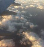Wolken von oben Stockfoto