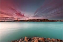 Wolken von Plymouth lizenzfreie stockbilder