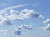 Wolken in vorming stock afbeeldingen