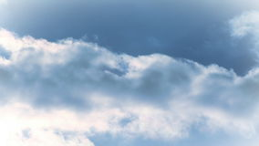 Wolken-Zeitspanne 3 stock video footage
