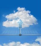 Wolkenantriebskraft Stockfoto