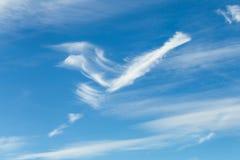Wolkenbildung Lizenzfreies Stockfoto