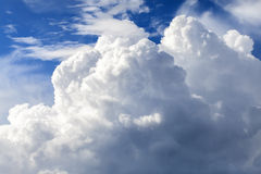 Wolkenbildung Stockbild