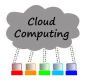 Wolkendatenverarbeitung Stockfotografie