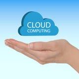 Wolkendatenverarbeitung Lizenzfreie Stockfotos