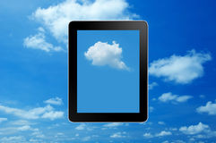 Wolkendatenverarbeitung Lizenzfreie Stockbilder