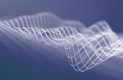 Wolkendatenverarbeitung und Technologiedesign Wiedergabe 3d Stockbilder