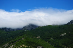 Wolkendekking Stock Fotografie