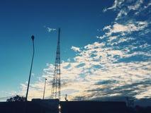 Wolkenflügel Lizenzfreies Stockbild