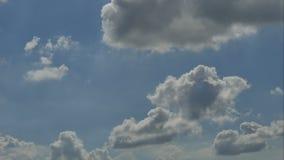 Wolkenhemel timelaps 4k 25fps stock videobeelden