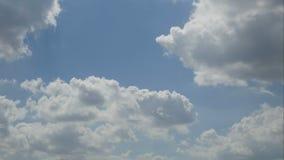 Wolkenhemel timelaps 4k 25fps stock footage