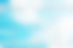 Wolkenhemel uit geconcentreerde achtergrond Stock Foto