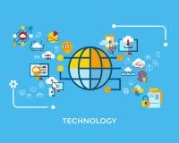 Wolkenikone der künstlichen Intelligenz Digital-Vektors lizenzfreie abbildung