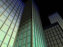 Wolkenkrabber #1 vector illustratie