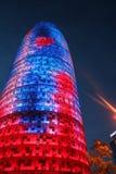 Wolkenkrabber 2 van Barcelona Stock Foto