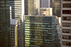 Wolkenkrabber Stock Foto