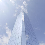 Wolkenkrabber vector illustratie