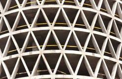 Wolkenkrabber in aanbouw Stock Afbeeldingen
