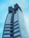 Wolkenkrabber in Barcelona Stock Foto's